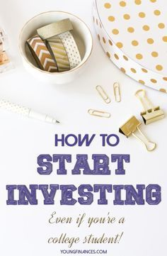 If you want to get started investing this is the way process.