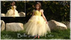 Ideas For Tutu Costumes: Belle, Tinkerbell, Rapunzel, peacock, bee, etc