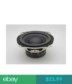 TV, Video & Audio Parts 1Pc 4.5''-5'' 4Ohm 4 30W Woofer Bass Audio Speaker Auto Car Home Loudspeaker #ebay #Electronics