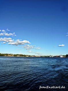 Boat trip to the island Djurgarden