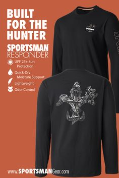 Sportsman Responder keeps you warm and comfortable when it's cool — but never sticky and sweaty while walking to the duck blind or deer stand.