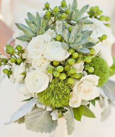 grey green and white reception wedding flowers,  wedding decor, wedding flower centerpiece, wedding flower arrangement, www.myfloweraffair.com