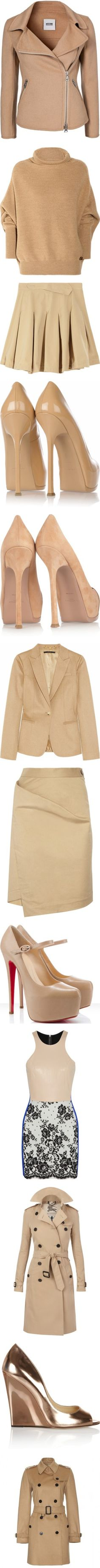 """""""Nudes"""" by alyssa23 ❤ liked on Polyvore"""