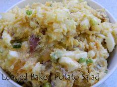 My Favorite Things: Loaded Baked Potato Salad