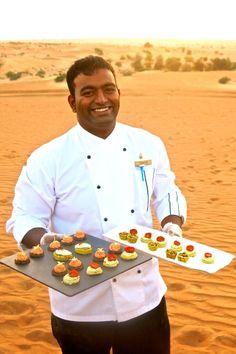 Dinner in the Desert, Dubai, UAE
