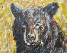 Early Honey Bear ----- 14 x 18 inches ---- by Kent Paulette ( aka derfla )