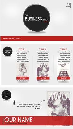 Modern Style Keynote - PowerPoint & Keynote - Creattica
