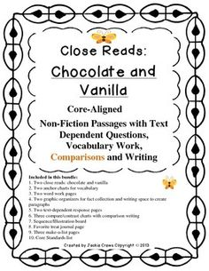 Literature Learning Activities for Middle School