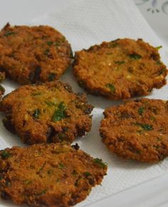 Masala vada. Tasty South Indian snack