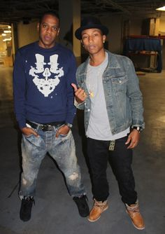 Jay-Z & Pharrell Williams