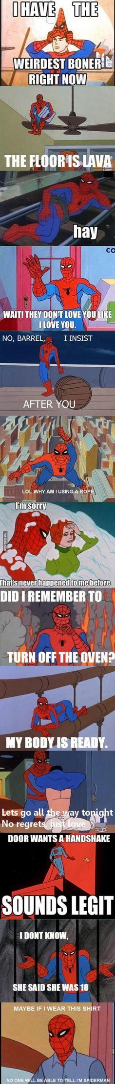 More Spiderman memes
