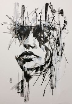 Ink painting on paper 30x40cm #inktober #arr