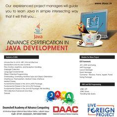 Get Advance Certification in JAVA Development