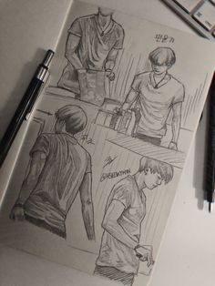 Bts Drawings, Pencil Art Drawings, Art Drawings Sketches, Drawing Reference Poses, Art Reference, Art Journal Inspiration, Art Inspo, Fashion Design Drawings, Bts Aesthetic Pictures