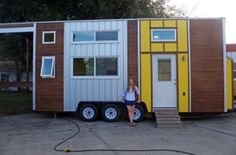 Emilys 24 Tiny House on Wheels by Trekker Trailers 001