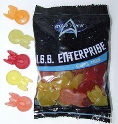 Star Trek Gummies!!! YUM!!!