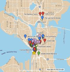 Researched historic locations from 1982 Seattle, for reference in my novel, Bad Reputation. The Last Exit, City Boy, Books For Boys, Queen, Me On A Map, Seattle, Novels, Show Queen, Fiction