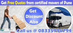 Get free quotes from ISO certified packers and movers of Pune at lower rates.