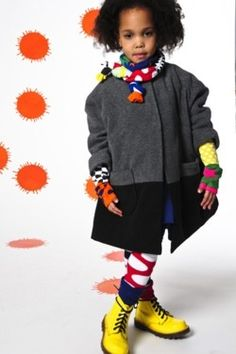 #BOdeBO mittens and scarf I www.spruitkinderkleding.nl