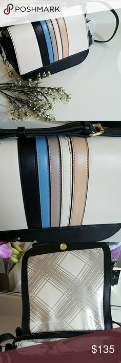 London Fog Crossbody Beautiful brand new with tag London Fog Crossbody. 100% authentic. See pics for details. No damages or stains. Just needs a little wiping. London Fog Bags