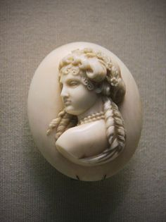 Ivory cameo, French, about 1850-60 | Flickr - Photo Sharing!