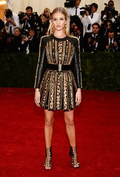 Pin for Later: Go Glam or Go Home: All the Stars on the Met Gala Red Carpet! Rosie Huntington-Whiteley
