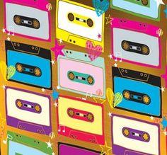 Casets de los 80' chic