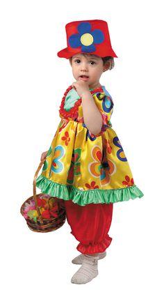 Disfraz de #payasita para bebes