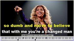 Me, Myself And I - Beyonce Knowles | Karaoke LYRICS