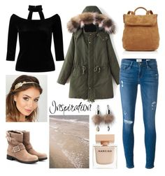 """""""Inspiration"""" by marianasm on Polyvore featuring Whistles, Jimmy Choo, Frame, Miss Selfridge, Simons and Narciso Rodriguez"""