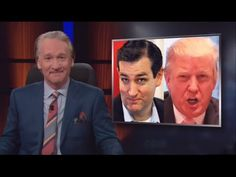 Bill Maher Settles the Debate Over Who's Less Bad: Trump or Cruz