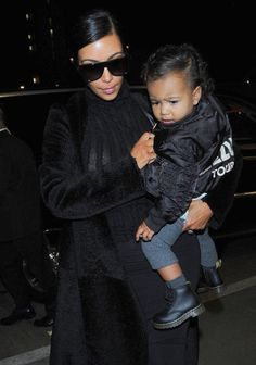 North West Photos: Kim Kardashian and North West at LAX — Part 3