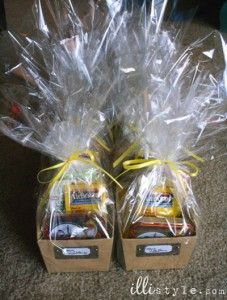 Stay Well Kits, quick office gift - illistyle.com LOVE THIS IDEA FOR FLU SEASON!