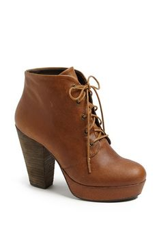 Steve Madden 'Raspy' Platform Bootie I have always wanted a bootie like this ;) Boho chic but not too boho just how I like it