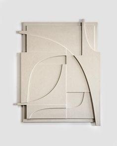 Wall Sculptures, Sculpture Art, Geometric Sculpture, Textured Canvas Art, Modernisme, 3d Wall Art, Nordic Design, Wood Art, New Art