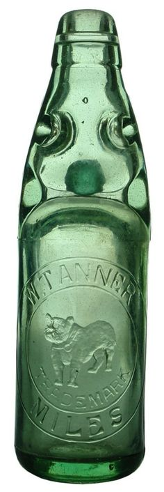Auction 27 Preview | 55 | Tanner Miles Queensland Bulldog Old Codd Marble Bottle