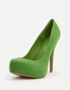 Yes! Lime Green pumps!
