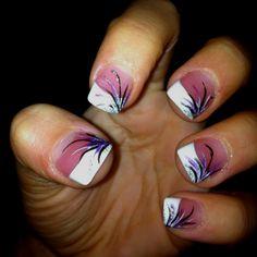 Senior prom nails