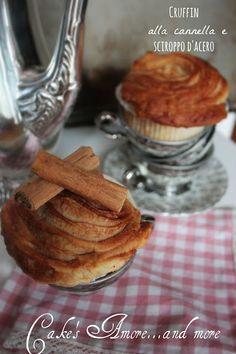 Cake's Amore... and more: Cruffin alla cannella e sciropo d'acero