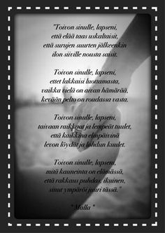 Finnish Words, Wise Words, Everything, Love, Quotes, Historia, Amor, Quotations, Word Of Wisdom