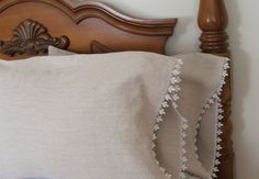 country french Linen Pillowcases by MyThymeCreations on Etsy, $40.00