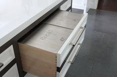 Bread drawer insert Brad Co Stainless