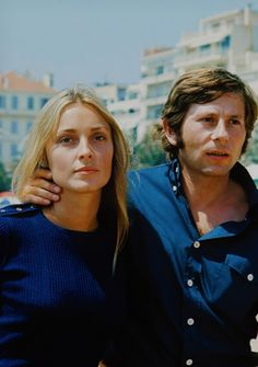 Sharon Tate and Roman Polanski, Cannes, 1968