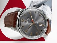 Alpina Alpiner Steel Anthracite/Rose Dial Automatic Men's Strap Watch AL-525VG4E6