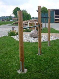 Holzzäune Rundholzprodukte Holz im Garten Roland Krammer Petting - Spielgeräte