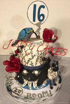 Miss Peregrine birthday cake