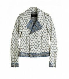 @Who What Wear - Calypso St. Barth Block Printed Leather Moto Jacket ($1150)  The bold-yet-timeless print on this moto jacket makes it a justifiable investment piece.
