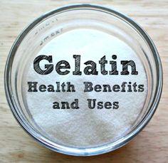 Gelatin Health Benefits and Uses