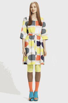Marimekko suklaajatski dress