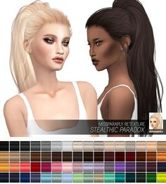 Miss Paraply: Stealthic Paradox: Solids • Sims 4 Downloads